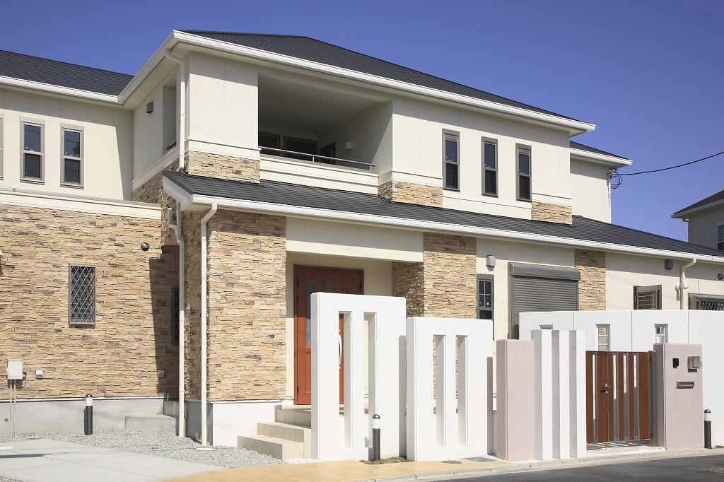 建物の質を左右する外装工事